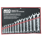 M10 Combination Wrench Set (German Type) - Singapore